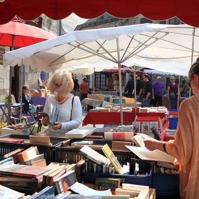 Reprise du marché du livre de Bécherel, dimanche 7 mars 2021