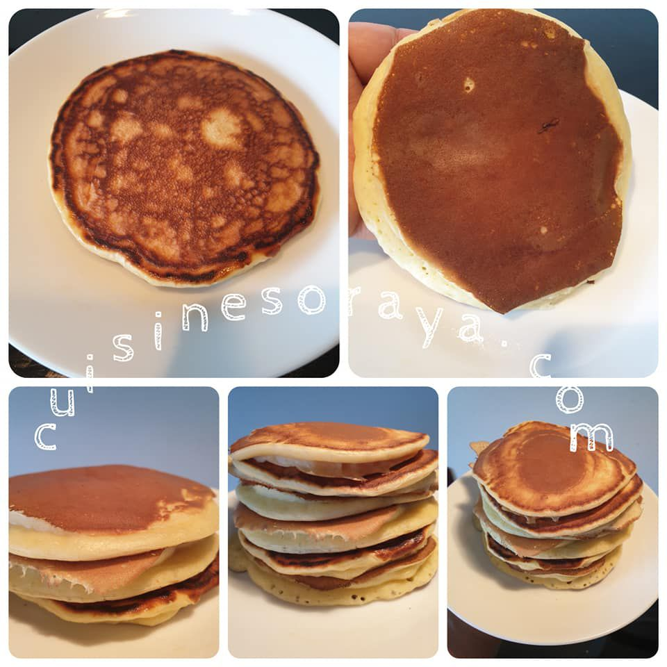 Pancakes légère au skyr express