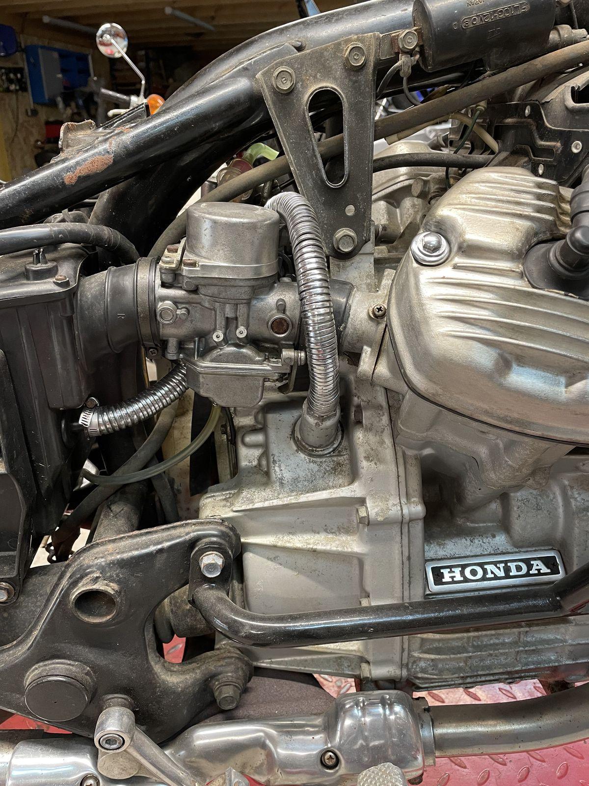 HONDA CX 500 VENANT DU 40