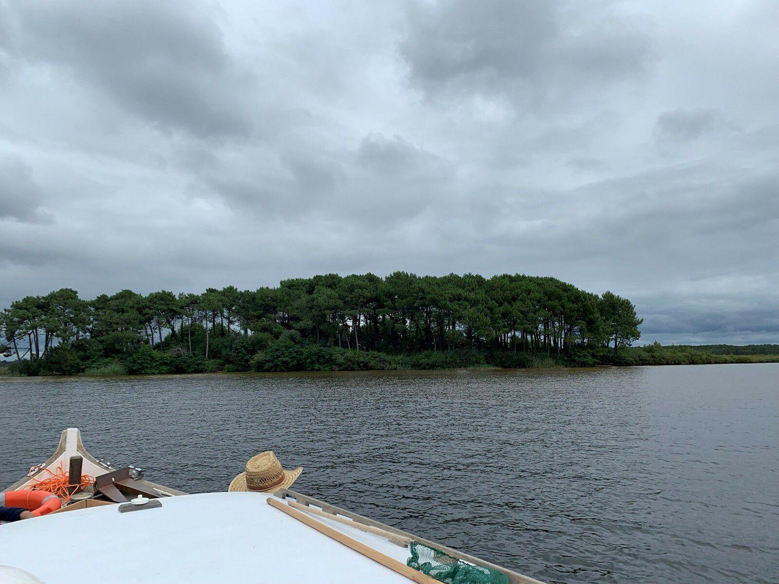 Lac de Lacanau avec des enfants