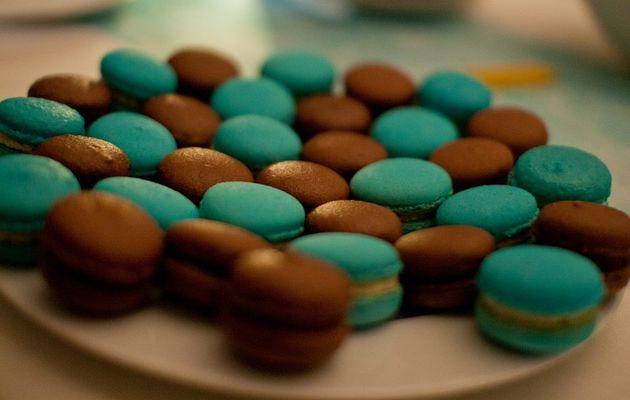 Macarons chocolat versions 2