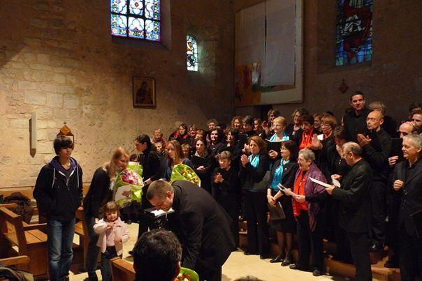 20 Mars, à l'église d'Aubergenville