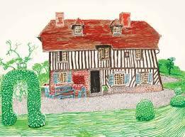 "David Hockney ""Ma Normandie"" à la galerie Lelong"