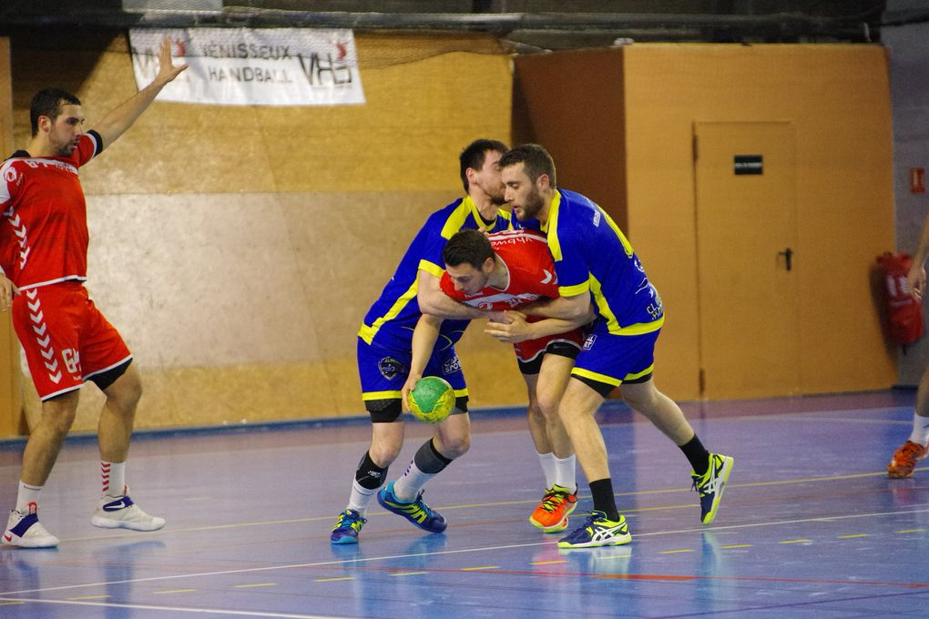 6ème defaite de la saison pour les handballeurs face à Marsannay