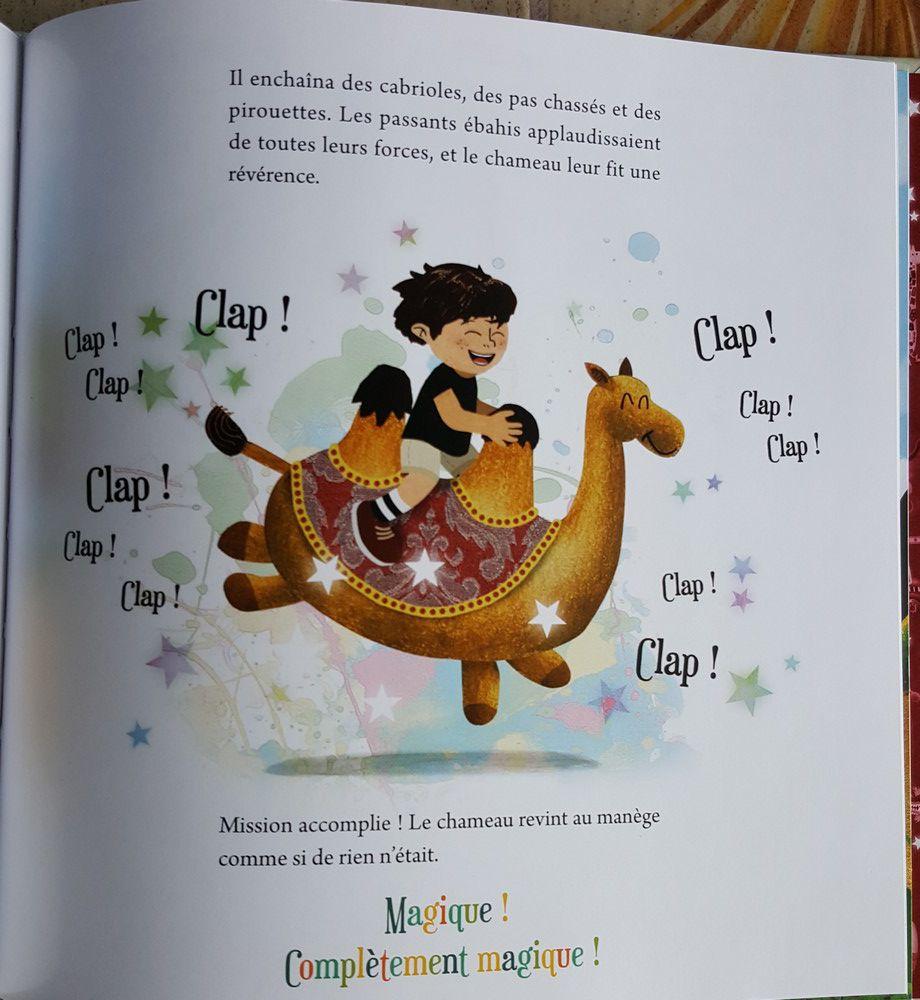 """Un fabuleux album jeunesse : """"Le manège magique"""" de Christine Delamaire et David Trouillaud..."""