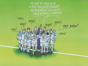 Avant les entraîneurs n'avaient aucun problème pour faire passer leur message. Ils étaient compris de tous ou presque . Maintenant le message est plus difficile à déchiffrer par la main-d'oeuvre étrangère.