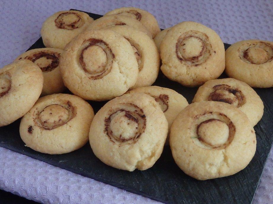 Biscuits champignon