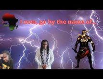 The african chronicles - I now go by the name of...