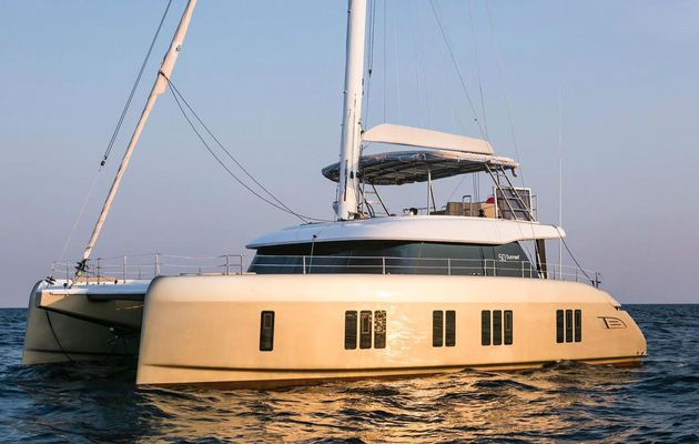 Multihull Scoop - first pictures of the new Sunreef 50 catamaran