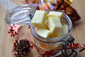 Cadeaux gourmands 3 : Fudge chocolat blanc et noix de coco