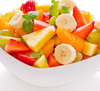 Une salade de fruits