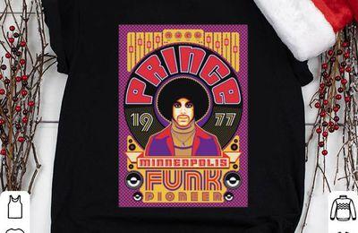 y Prince 1977 minneapolis retro funk pioneer shirt