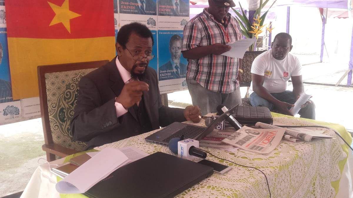 Code Pénal : JeanJacques Ekindi dénonce le caractère dangereux de certains articles