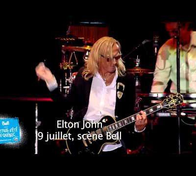 Festival d'été: Elton John, actions-réactions !