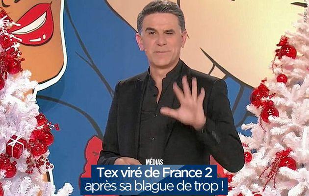 Tex viré de France 2 après sa blague de trop ! #Tex
