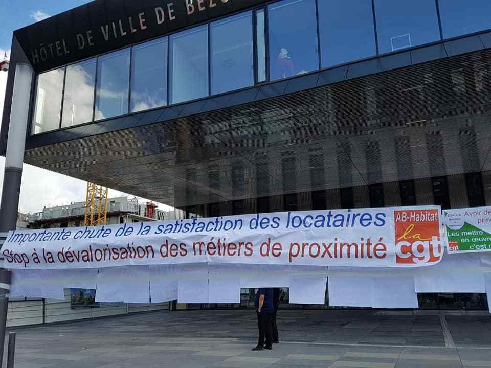 Décoration de la mairie de Bezons !