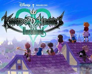 Kingdom Hearts : Unchained X sur mobile.