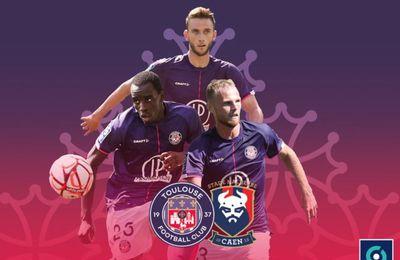 Toulouse FC / SM Caen : Sur quelle chaîne suivre la rencontre lundi ?