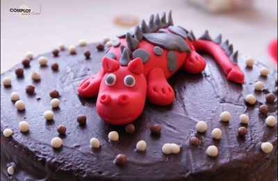 Gâteau au yaourt - Sweet Table Dragon
