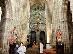 Cathédrale Saint-Tugdual de Tréguier,  le cloître, Bretagne en camping-car
