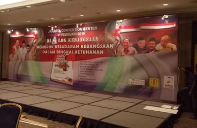 Backdrop Event, Partisi Pameran, Panel R8