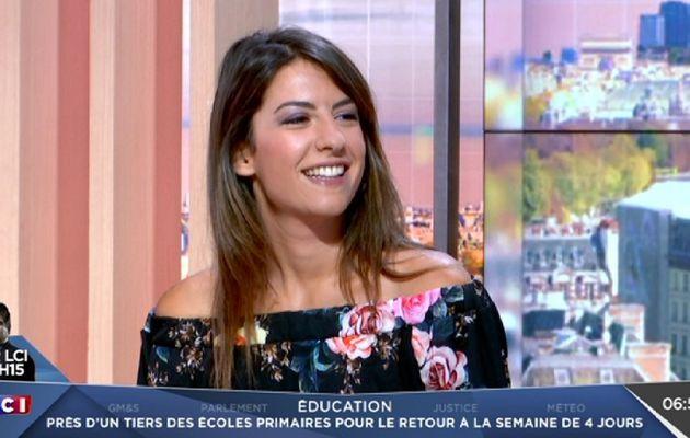 📸7 HELENE MANNARINO ce matin @lcimatin @lci #vuesalatele