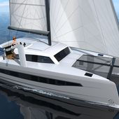 Catana Ocean Class - grand voyage et hautes performances... en mode Open !! - ActuNautique.com