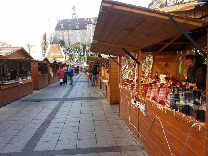 Le marché de noël à Montluçon.