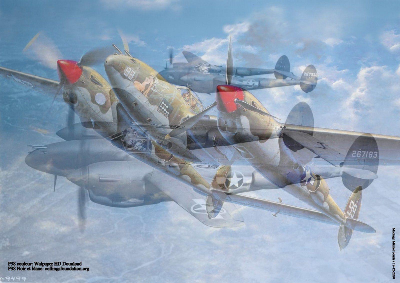 """17 - Antoine de Saint-Exupéry et Témoignages Avion de légende """" Lockheed P 38 """""""