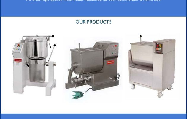 Meat Mixer for heavy duty meat grinding and mixing