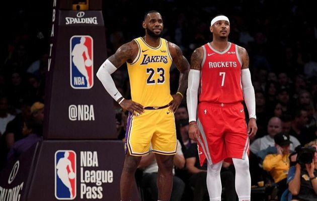 Carmelo Anthony vers les Los Angeles Lakers