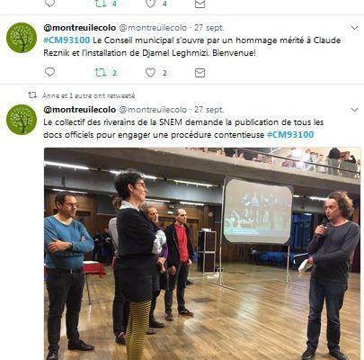 Ecologie à Montreuil : Usines Vertes et salade recomposée