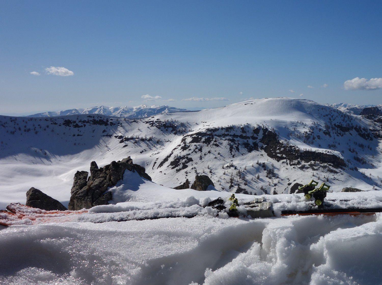 Sommet de la Mole : un sommet taillé pour le ski