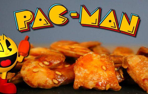 Les Feuilletés Apéro Pac-Man au Sésame !