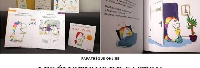 [Papathèque] Lecture : le plein de nouveautés autour des émotions de Gaston (éditions Hachette Enfants)