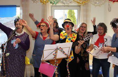 Kurzweilige Faschingsfeier mit dem katholischen Frauenbund Veitshöchheim in St. Hedwig