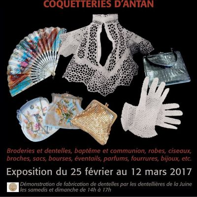 """Expo Collection-Passion 2017: """"Les coquetteries d'antan"""""""