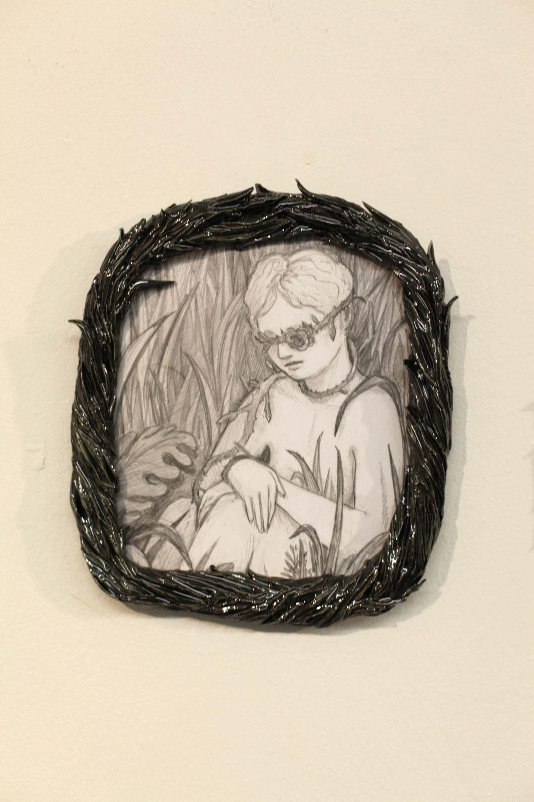 """""""Un trou de verdure"""", 2020 de Lise STOUFFLET - Courtesy de l'artiste et de la Galerie LJ © Photo Éric Simon"""
