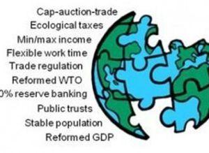 Le 10 politiche più efficaci per un'economia di stato stazionario, secondo Herman Daly
