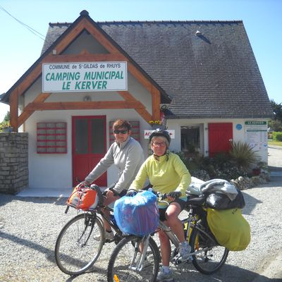 Les 2 Catherine en velo en Bretagne