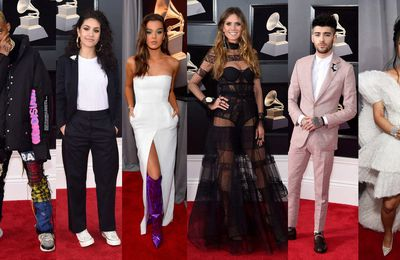 GRAMMY AWARDS 2018 / RED CARPET BEST LOOKS