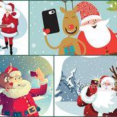 Grilles Gratuites Père Noël chez Gazette94 :01/12/15