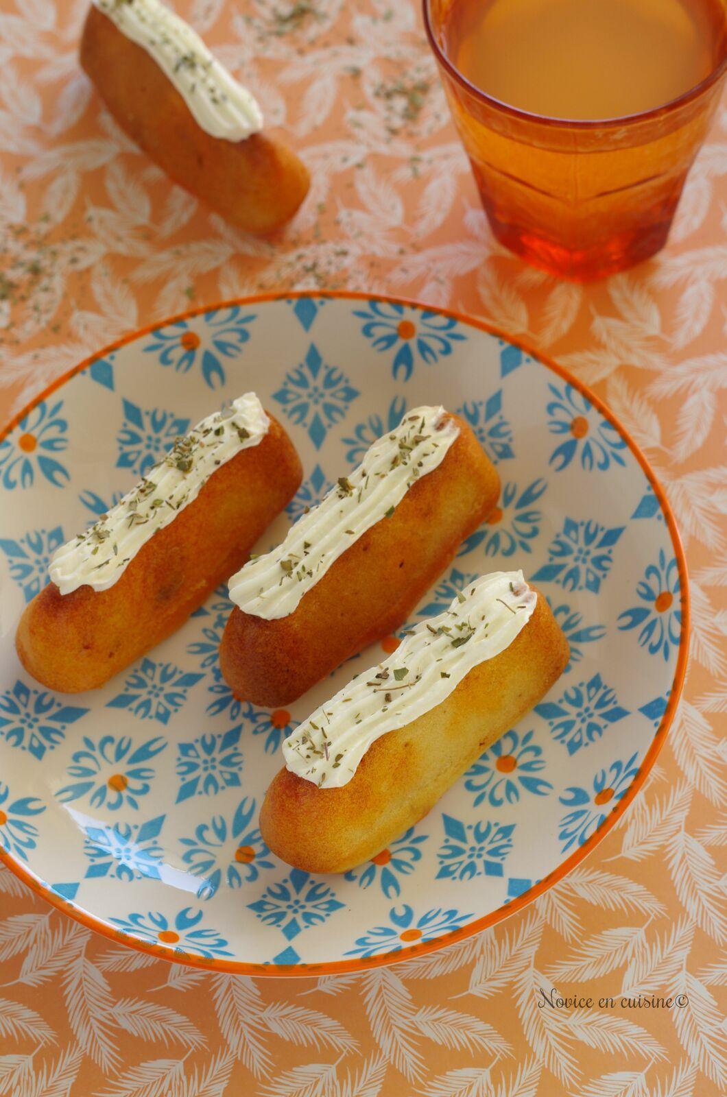 Cupcakes au chorizo et st moret {Quand les dômes triangles se prennent pour des cupcakes}