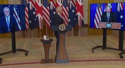 Egal à lui-même, le président Biden ne se souvenait plus du prénom de Scott Morrison lorsqu'il a mis en scène le Pacte AUKUS.