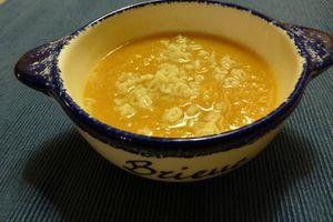 P'tite soupe du soir poireau-patate douce