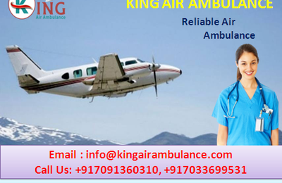 King Air Ambulance Service in Ranchi: Low Budget Service