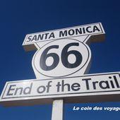 Etats-Unis : Route 66, the End en Californie - Le coin des voyageurs