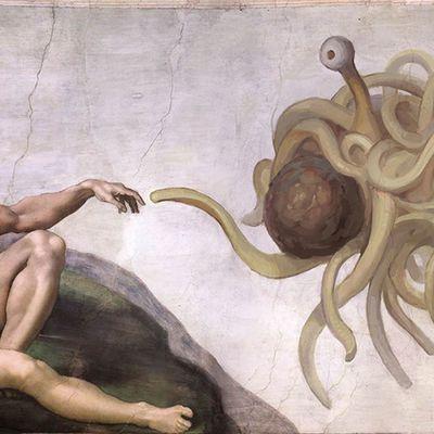 Enfin trouvé ma voie dans le Pastafarisme !!!