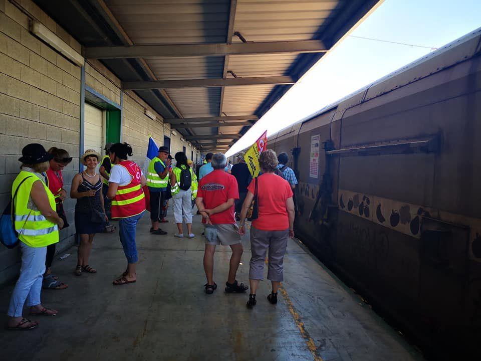 Le train de fret: Perpignan / Rungis: on roule vers les 25000 camions! interview  et reportage par Nicolas Caudeville