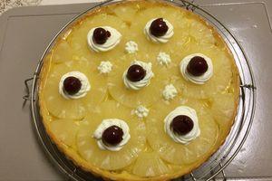 tarte a l'ananas